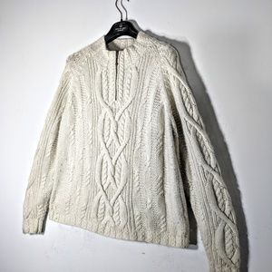 Icelandic Design Angora Fisherman's Sweater